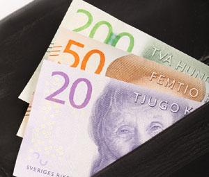 Sverige pengar